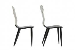 """Piero Fornasetti Miniature """"Capitello Ionico & Corinzio"""" Chairs"""