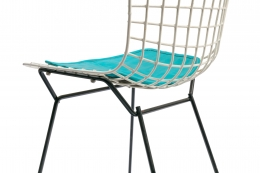 Harry Bertoia Child's Chair with Original Knoll Seat Pad