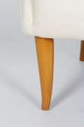 """""""Big Eva"""" Lounge Chair and Ottoman by Kerstin Hörlin-Holmquist, Close Up of Leg"""