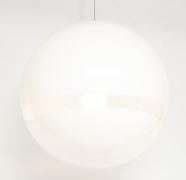 Mazzega Murano Mid-Century Globe Pendant Light