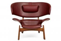 """Viking"" Lounge Chair & Ottoman"