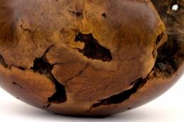 Hap Sakwa Turned Manzanita Wood Vessel