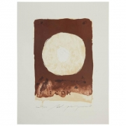 """Adja Yunkers """"Composition XII"""" Lithograph"""