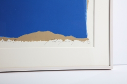 """Adja Yunkers Lithograph """"Parev III"""", Close Up 2"""
