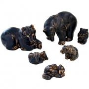 Bear Sculptures by Knud Kyhn for Royal Copenhagen