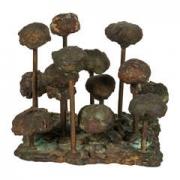 Harry Bertoia Bronze Melt-Pressed Sculpture