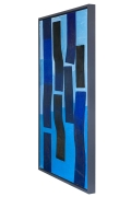 Bent Sorensen Abstract Blue Painting