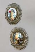 Convex Sunburst Mirrors