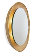 Backlit Wall Mirror in the Style of Mategot