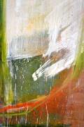 Abstract Painting on Wood by Dana Hatchett