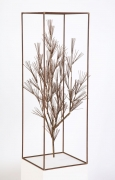 Jere Sculpture of Abstract Tree in Frame