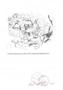 Gio Ponti Sketch of a City Plan