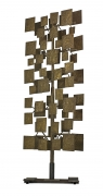 Harry Bertoia Sculpture Screen Commissioned by Florence Knoll, 3/4 View