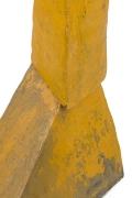 Bent Sorensen Abstract Yellow Ceramic Sculpture