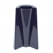 "Enzo Mari ""Pago - Pago"" Black Plastic Vase for Danese"