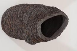 Burnt Concrete Sculpture by Klaus Titze