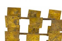 Harry Bertoia Maquette for Melt Coat Sculpture Screen for Bank of Miami