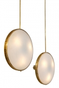 Max Ingrand Ceiling Mounted Wall Lights for Fontana Arte