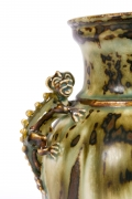 Bode Willumsen for Royal Copenhagen Stoneware Vase with Gargoyles