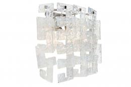 Mazzega Murano Glass Sconces