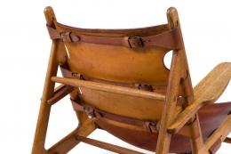 """Borge Mogensen """"The Hunting Chair"""" by Erhard Rasmussen"""