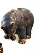 Bear Sculptures by Knud Kyhn for Royal Copenhagen, Bear 1