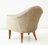 """Kerstin Horlin-Holmquist """"Little Adam"""" Lounge Chair. 3/4 Back"""