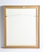 "Adja Yunkers Lithograph ""Shant D'un Oiseau Solitaire"" 50/50, Back of Canvas"