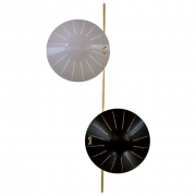 Roberto Rida Perforated Disc Sconces