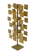 Harry Bertoia Maquette for Melt Coat Sculpture Screen for Bank of Miami