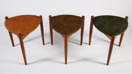 Midcentury Stacking Stools