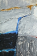 Abstract Painting by Michael Argov, Close Up 7