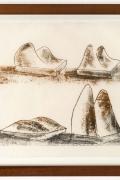 Harry Bertoia Monoprint on Rice Paper