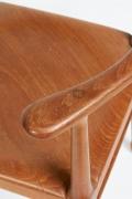 Vintage Model of Danish Mid-Century Corner Chair, Close Up 2