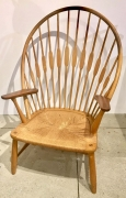 "Hans Wegner ""Peacock"" Chair in Ash & Teak"