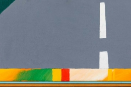 """""""Vestvendt Billede"""" Painting by Bent Karl Jacobsen"""