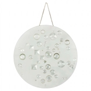 Mary Bauermeister Glass Disc Sculpture