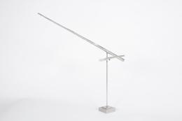 "George Rickey ""One Horizontal One Diagonal Line"" Sculpture, Angle 2"