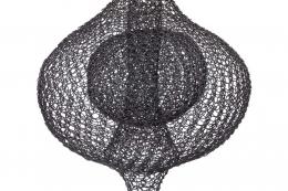 Organic Woven Mesh Wire Sculpture by Ulrikk Dufosse