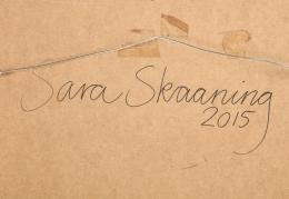 """Sara Skaaning Painting on Board """"In There-Out There-Somewhere"""""""