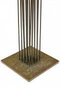 "Harry Bertoia Beryllium & Brass ""Cattail"" Sonambient Sculpture"