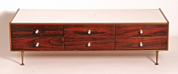 George Nelson Rosewood Jewelry Chest