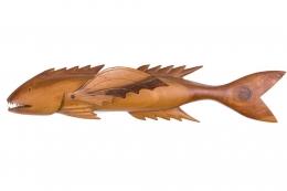 "Pitcairn Island ""Mutiny on the Bounty"" Wall-Mounted Flying Fish"