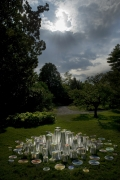 """Magic Wood"" Ceramic Sculptures by Fausto Salvi, Landscape 1"