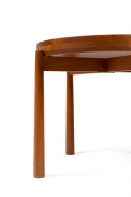 Jens Quistgaard Style Teak Tray Table, Cropped Bottom View