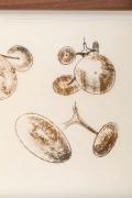 Harry Bertoia Framed Monoprint on Rice Paper