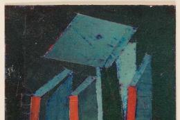 Hank Virgona Mixed-Media Artwork