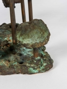Harry Bertoia Bronze Melt-Pressed Sculpture