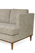 Midcentury Style Four-Seat Sofa by Lost City Arts