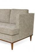 Midcentury Style Four-Seat Sofa